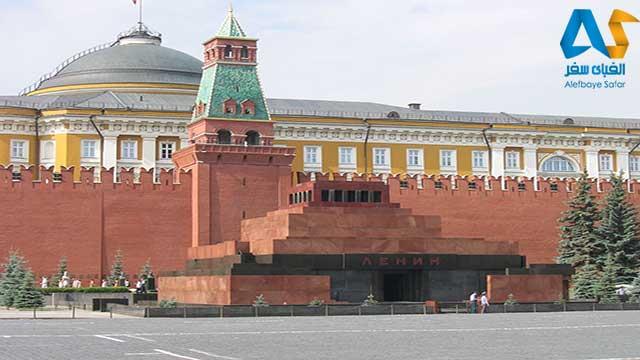 آرامگاه لنین- مسکو-الفبای سفر