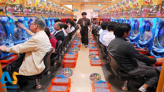 بازی ژاپنی Pachinko،الفبای سفر