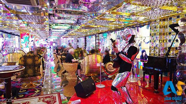 رستوران ربات Shinjuku،الفبای سفر