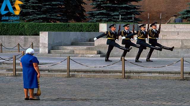 رژه نظامی مسکو-الفبای سفر