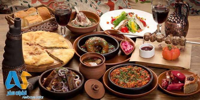 غذاهاي خوش طعم گرجي-الفباي سفر