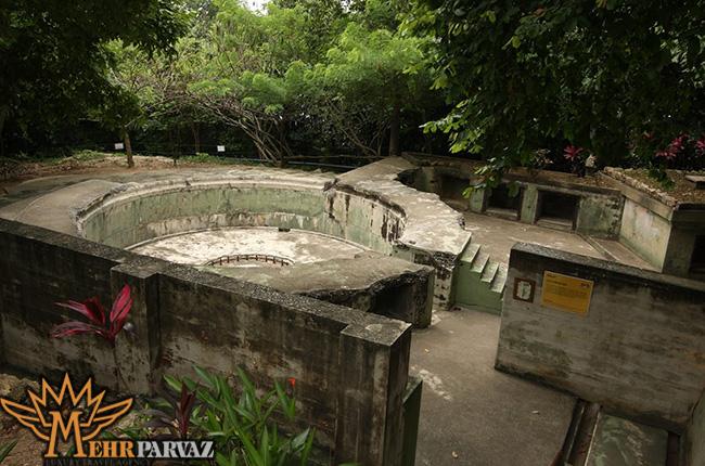 موزه جنگ پنن-مالزی،مهرپرواز