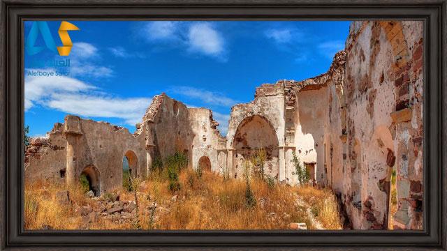 بخش تاريخي و باستاني شهر چشمه تركيه