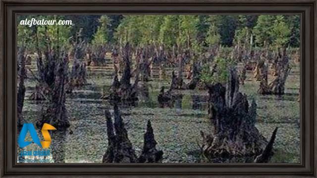 دریاچه ارواح در کدام استان است؟