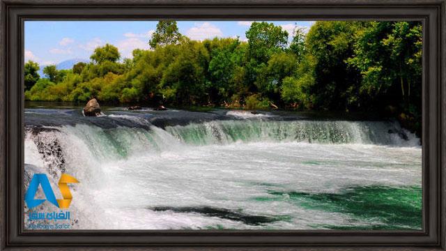 آبشار ماناوگات در تركيه