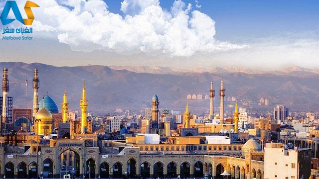 حرم امام رضا در شهر مشهد مقدس
