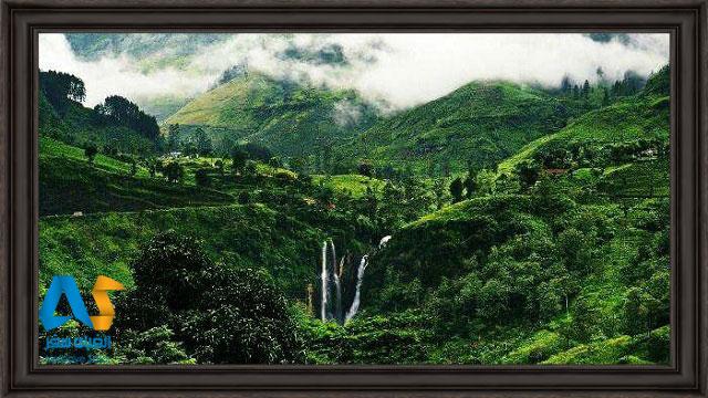 منظره بسيار زيباي نووارا اليا سريلانكا