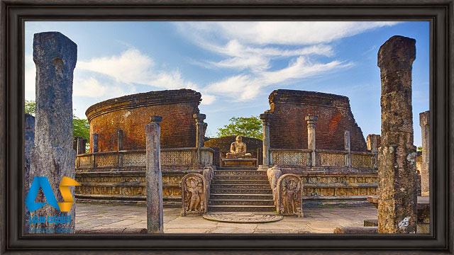 معبد پولونارووا سريلانكا