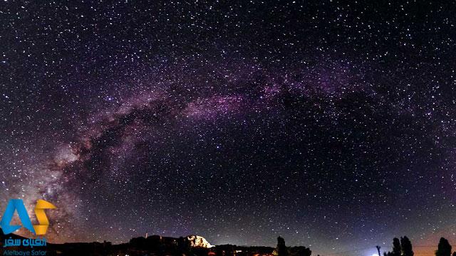آسمان شب در ساکلکنت آنتالیا
