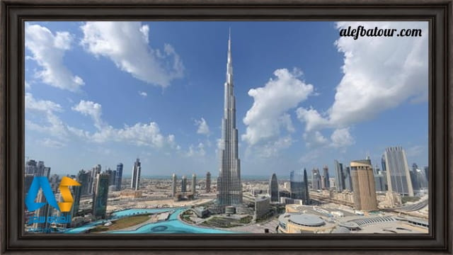 برج خلیفه دبی، بلندترین برج دنیا