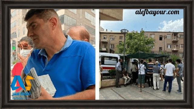 حضور ایرانیان در ارمنستان برای واکسیناسیون