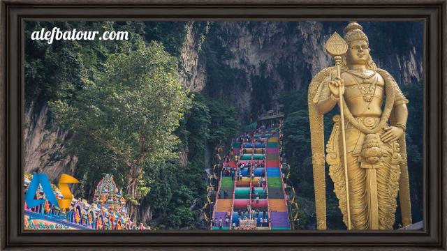 غار باتو کیو، معبدی زیبا در مالزی