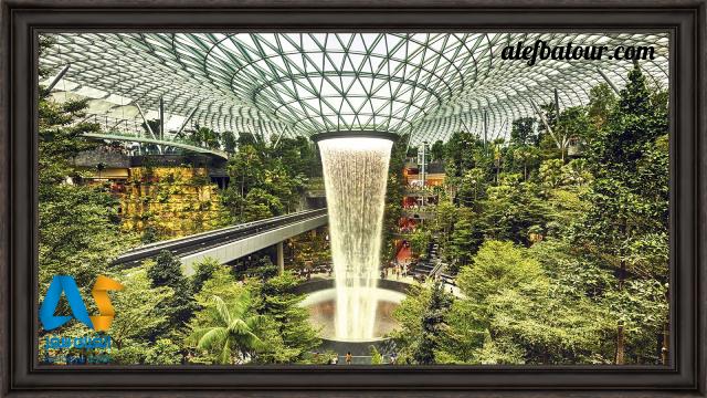 چانگی سنگاپور زیباترین فرودگاه دنیا