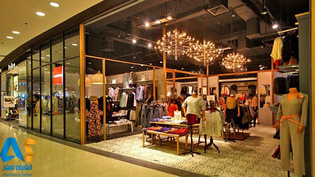 فروشگاه پوشاك در مركز خريد فستيوال مركزي پاتايا