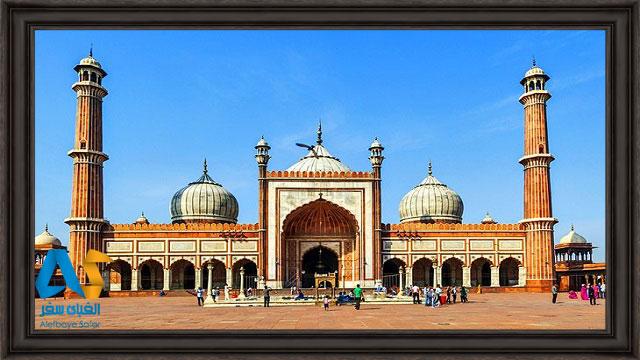 مسجد جاما دهلي، بزرگترين مسجد هند