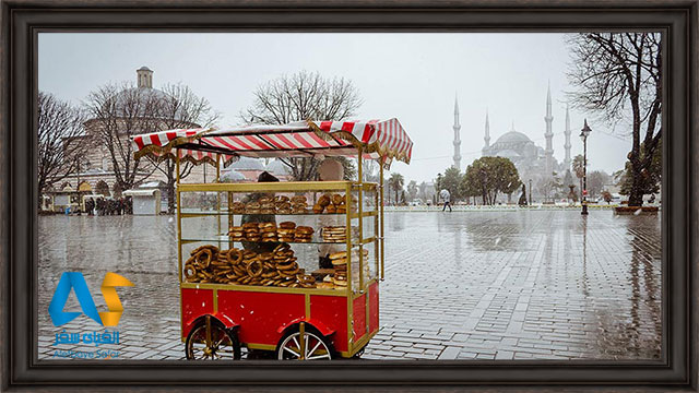 زمستان در استانبول