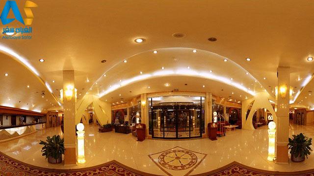 نمای 360 درجه لابی هتل پارمیس کیش