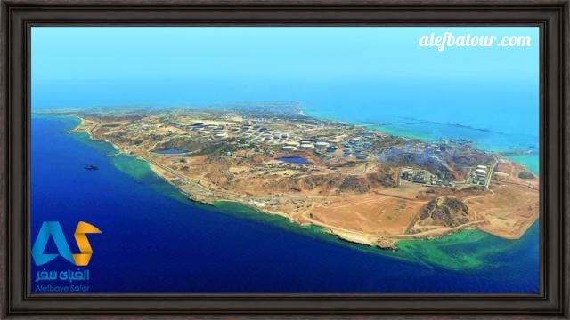 نمایی هوایی از جزیره کیش
