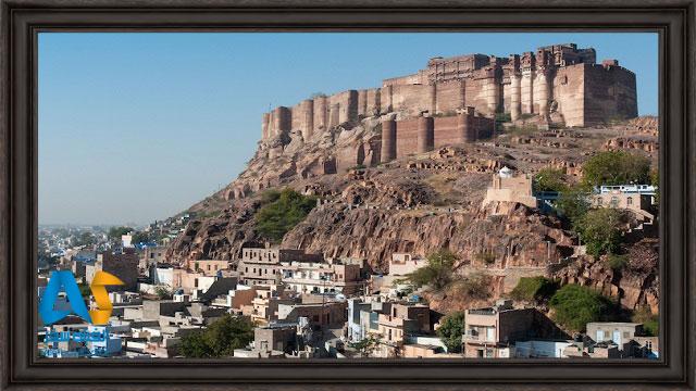 قلعه مهرانگار در جودپور هند