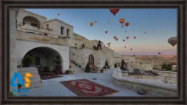 هتل سوئیت غار فوکاس در کاپادوکیه ترکیه
