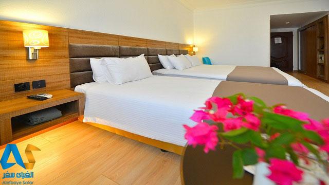اتاق دوتخته در هتل 5 ستاره شایگان کیش
