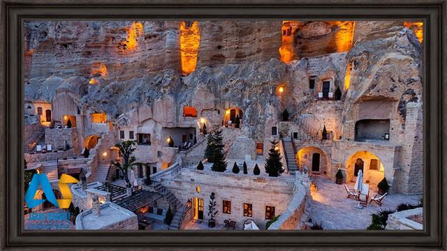 هتل غار یوناک اوکلری در کاپادوکیه ترکیه